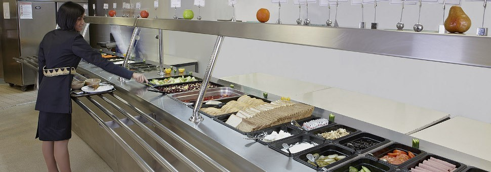 Catering Service - Buffet Layout