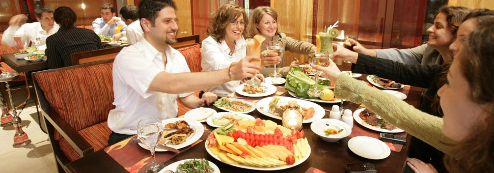 Lebanese Restaurant - Friendly atmosphere