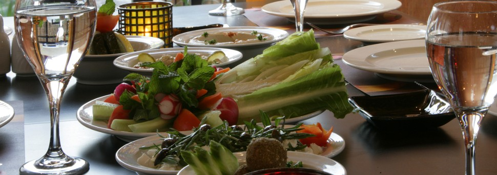 Lebanese Restaurant - Fresh Vegetables